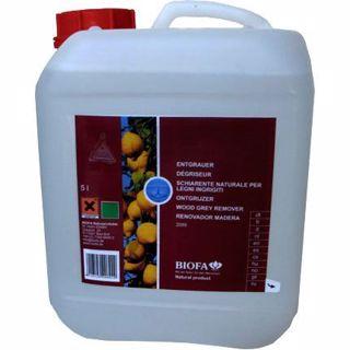 Removedor de Cinzento de Deck e Madeiras Exteriores da Biofa