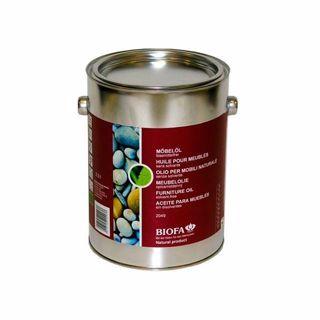 Óleo para móveis e guarnições - verniz Biofa - 2,5 L