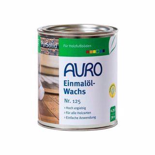 2,5L Auro 125 óleo cera, uma aplicação