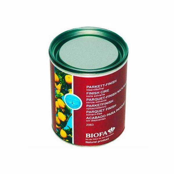 0,75L Cera de acabamento de soalhos e mobiliário - Biofa