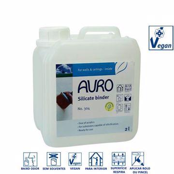 Ligante de silicato Nº 304 para tintas Auro
