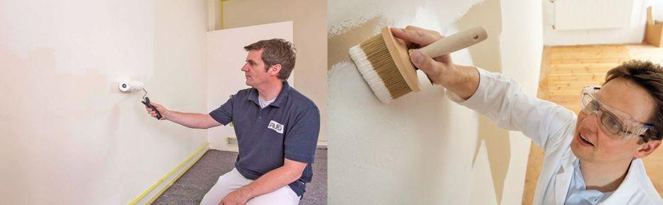 Caiar as paredes com tinta de cal.  Uma solução moderna de uma tinta clássica